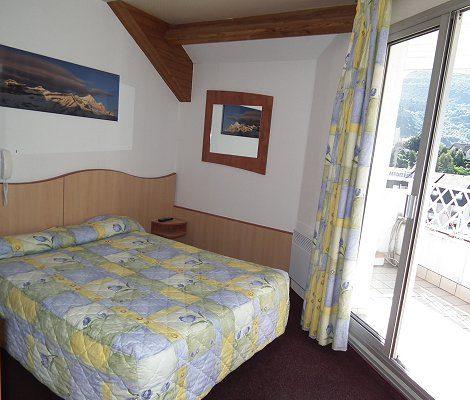 chambre double hotel lourdes