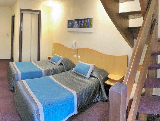 hotel lourdes chambre duplex